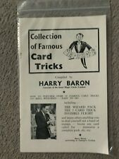 Collection of Famous Card Tricks by Harry Baron