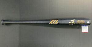 "ALEX VERDUGO RED SOX Signed MARUCCI GAME MODEL BAT MLB DEBUT 9/1/17"" PSA RG25221"
