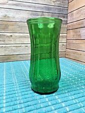 "Vintage PGC (Portland Glass Co.) Emerald Green 9"" Vase Excellent Condition"