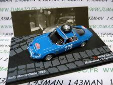 voiture 1/43 IXO Altaya Rallye  MATRA DJET V JAUSSAUD/Pescarolo Monte carlo 1966