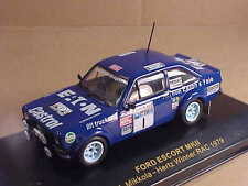 Ixo 1/43 Diecast Ford Escort MKII, Winner 1979 RAC, Eaton - Castrol #1  #RAC004