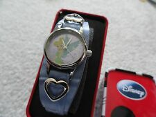 New Disney's Tinkerbell Quartz Ladies or Girls Watch - Blue Band