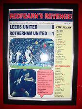Leeds United 0 Rotherham United 1 - 2015 - framed print