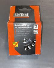 My Tool Scheibenbürste 75mm gezopfter Draht