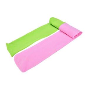 Girls Pink Green Tights 2 Pairs Pack Toddler Children Bright Stockings Halloween