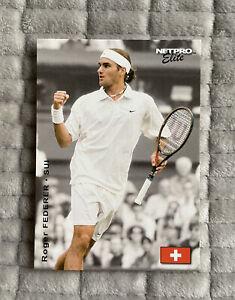 ROGER FEDERER 2003 Netpro Elite Event Edition Tennis #S2 RC Rookie Card PSA BGS
