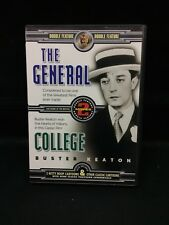 New The General - College Dvd - Buster Keaton - Double Feature + Cartoons - Oop