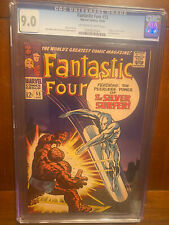 FANTASTIC FOUR #55 10/66 9.0 OWW PAGES EARLY SILVER SURFER!  HIGH GRADE KEY