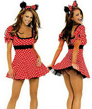 """Halloween Cosplay Adult Womens Mouse Costume Bust 36""""-37"""""""