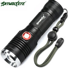 ZOOMABLE XM-L2 U2 LED 3 Mode 26650/18650 USB Rechargeable Flashlight Torch