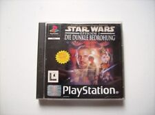 Star Wars die Dunkle Bedrohung PS1 Playstation 1
