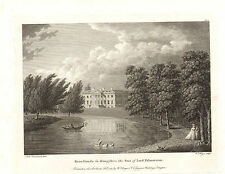 the seats of nobility & gentry 1787 -1815 engraving -  broadlands . hampshire