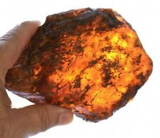 Blue Dominican Amber Stone Natural Gem Authentic Collectible Rough 266.5 Gr A281