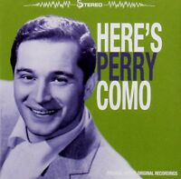 Perry Como - Here's Perry Como (2012)  CD  NEW/SEALED  SPEEDYPOST