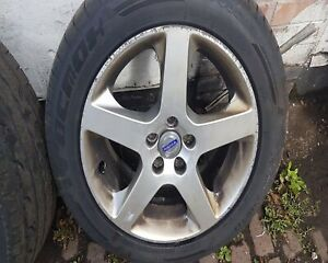VOLVO S80 V70 CANICULA 17 INCH ALLOY WHEEL 30748771 30714485  225 50 17 TYRE