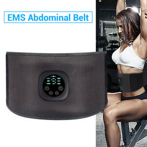 EMS Muscle Stimulator Abdominal Toning Training Fitness Buttocks Slimming FN