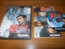 Tekken Tag Tournament COMPLETE (Sony PlayStation 2, 2002) 1-4 Players