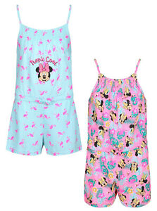 GIRLS PLAYSUIT DISNEY MINNIE MOUSE EX UK STORE PLAY SUITS 1 2 3 4 5 6 7 8 YEARS