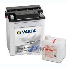 Varta Motorradbatterie Powersports YB14L-A2 12V 14AH 514011008 12N14-3A