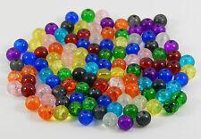 200 pcs-en verre craquelé couleur mixte Perles Rondes 6mm taille de bijoux / craft