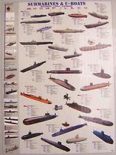 Jigsaw puzzle Maritime Ship Submarines and U-Boats 1000 piece NEW made in USA