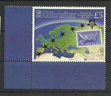 GIBRALTAR - 50 Jahre Europamarken MiNr 1138 **