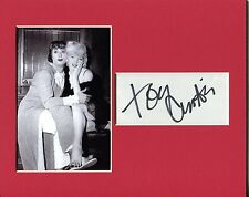 Tony Curtis Some Like It Hot Signed Autograph Photo Display W/ Marilyn Monroe