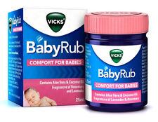Vicks BabyRub (VapoRub) Soothing Vapour Ointment comfort for Babies 25 ml 0.85oz