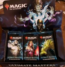 Magic The Gathering sealed Ultimate Masters Booster Pack, Liliana Karn Cavern