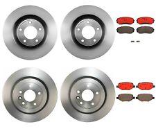 Front & Rear Disc Rotors Ceramic Pads Brembo Brake Kit for Ford Edge Lincoln MKX