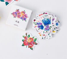 1 box 45 PCS flower Scrapbooking diary planners Notebook Decorative stickers