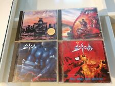 "SODOM 4 CD Sammlung ""Agent, Tapping, Persecution..."" / guter Zustand / good"