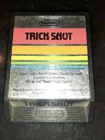 Trick Shot (Atari 2600, 1982) *BUY 2 GET 1 FREE +FREE SHIPPING*