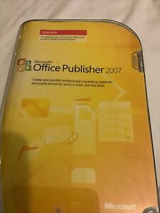 Microsoft OFFICE PUBLISHER 2007.