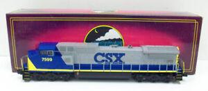 MTH 20-2006-0 3-RAil CSX Dash-8 Diesel Engine W/Horn #7599 LN/Box