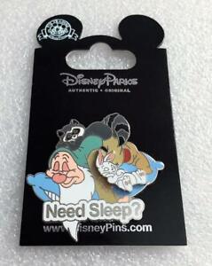 Disney Snow White Seven Dwarfs Sleepy Need Sleep? Pin AUTHENTIC