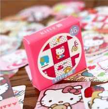Hello Kitty box of cute kawaii kitsch stickers pink