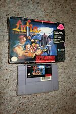 Lufia & the Fortress of Doom (Super Nintendo SNES, 1993) with Box FAIR