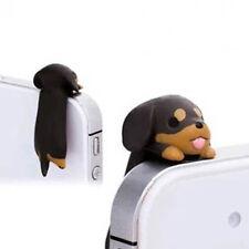 1 pza. Cartoon Perro Tapón Protección Contra Polvo de Joya móvil Smartphone