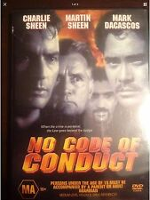 NO CODE OF CONDUCT Charlie Sheen Marin Sheen New Unsealed DVD R4