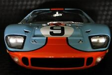 GT40 1966 Ford Sport Race Car GT 1 SportsCar 18 Exotic 12 Vintage Carousel Red