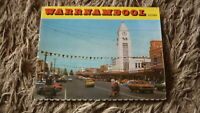 AUSTRALIAN OLD POSTCARD VIEW FOLDER. FROM THE 1970s WARRNAMBOOL VICTORIA 2