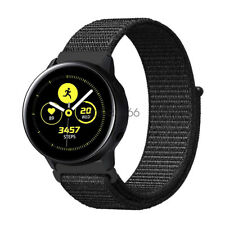 Watch Band For Samsung Galaxy Watch Active2 44mm 40mm Woven Nylon Loop Strap