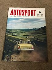 SEPT 3 1965 AUTOSPORT vintage car magazine