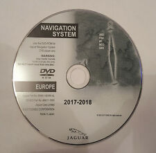 XF/XK  JAGUAR SAT NAV DISC MAP UPDATE 2017-18 LATEST NAVIGATION DVD  B UK&EUROPE