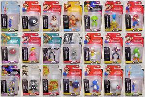 World of Nintendo 2.5 inch Action Figures Sealed - YOUR CHOICE - Jakks Mario