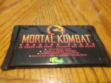 New sealed Mortal Combat Trading Cards by Classic 10 cards per pack
