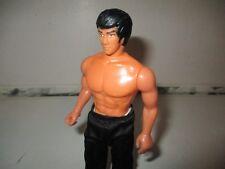 Rara Vintage Largo Juguetes la leyenda de Bruce Lee Figura De Acción 1986