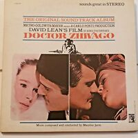 Doctor Zhivago (Original Sound Track Album): MGM S1E6ST LP Record Vinyl Booklet