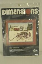 Dimensions Cross Stitch Kit ABANDONED BUGGY #1250 Mildred Sands Kratz NEW Sealed